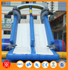 Children and adults like best water sports Customized size and style inflatable pools with slide
