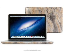Hard pc laptop shell case for macbook, for macbook marble case cover, marble cover for macbook