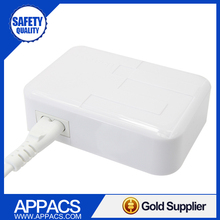 Mobile phone universal travel charger adapter with 5 usb home charger