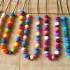 Special Best-Selling teething pendant silicone necklace