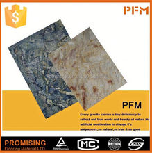 High Quality slab marble vinyl floor tile