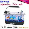 Tanque de peces más popular para saleiling pequeño café USB