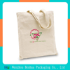 Promotion custom printed cotton canvas tote bag