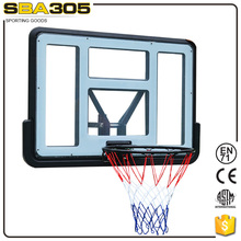 fiber hanging pc basketball board