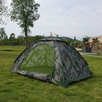 BL-A013 4 person green army tent military camouflage tent