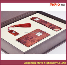 High School Gift 2015 Wooden Office Stationery,Bookmark,USB,Business Card Holder