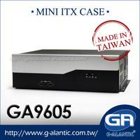GA9605 -Mni Desktop Computer Case for Gaming PC
