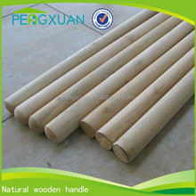 factory direct china sale round natural wood poles for shovel