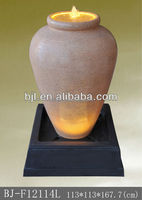 large size resin pot fountain