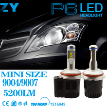 Universal Car Truck 9007 5200LM 55W LED Headlight Head Lamp P6 LED
