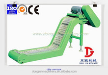 Hinged steel Belt Type cnc chip conveyor with lower price by dongjun factory