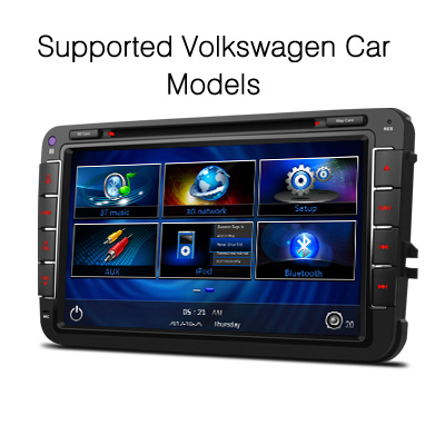 8 digital touch cran voiture dvd gps lecteur pour vw. Black Bedroom Furniture Sets. Home Design Ideas