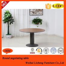 Modern round korean coffee table/round pedestal coffee table