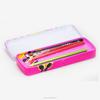 pencil tin, tin personalized pencil box, tin can pencil case