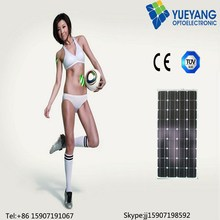 YYOPTO high efficiency mono 100w panel solar for commerical use