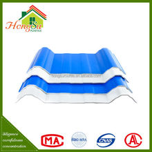 Best price 3 layer long term color stability plastic roof shingles
