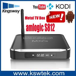 2015 newest xbmc kodi metal m10 stealthx imx3 android 4.2 xbmc smart tv box