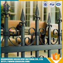 Manufacturer hot dipped galvanized floral metal fence