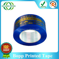 Experienced Factory Bopp Film Acrylic Adhesive Packaging products Logo Printed Custom stickers For Carton Packing