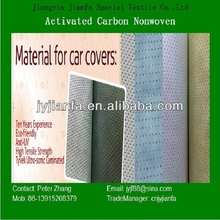 laminated nonwoven fabric for car covers