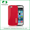 Eco-friendly stylish detachable Suitcase design 2 in 1 dual layer TPU+PC case cover for apple iphone6 / 6 plus