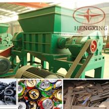 double shaft new flexible plastic scrap steel cutting shredder machine price for sale