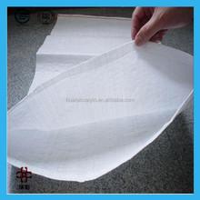 Popular white color pp woven bag for wheat flour,rice ,sugar,salt packaging