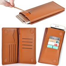 2015 Factory Wholesale Phone Case For Apple Iphone 6 Case Leather Wallet
