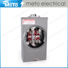 200A 7 jaw 3 phase meter socket