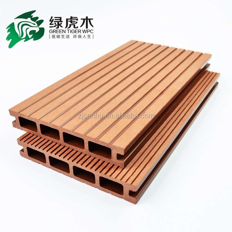 Wpc Decking Wood Plastic Composite Deck Board Wpc