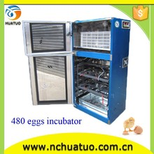 Holding 480 eggs automatic used accident cars for sale small egg incubator CE proved