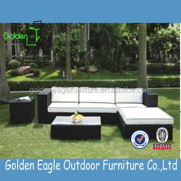 Hot sale leisure patio wicker outdoor sofas furniture