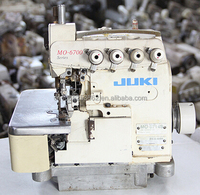 Good quality Used Second Hand Juki 6700 overlock industrial Sewing Machine