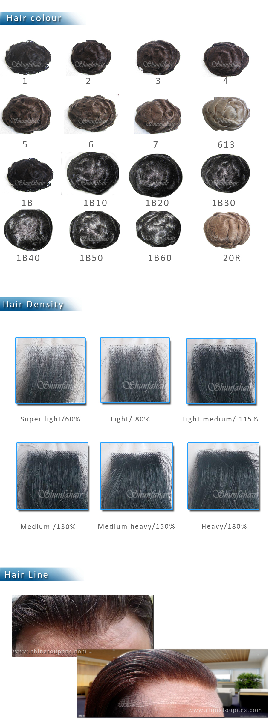 Best sale 100% virgin human hair toupees , French lace /swiss lace with PU around toupees ,natural hair toupees   , invisible knot very natural hair line toupee.jpg