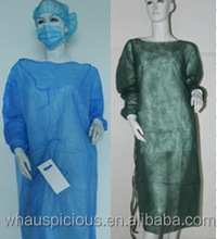 disposable non woven SURGICAL isolation patient visitor gown