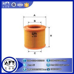 High quality Intake air filtration Cartridge filter air filter 931850 for car