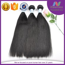 100 Percent SHEDDING FREE cheap remy human hair weaving for straight hair