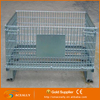 Galvanized Welded Foldable and Collapsible Wire Mesh Container