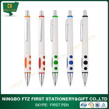 fancy cheap plastic pen with custom logo