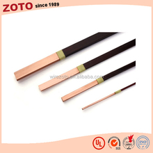 Reliable EIW flat copper wire for motor ,oil transformer ,dry transformer flat copper wire supplier