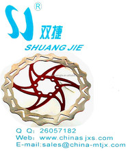 Top sell 180mm bicycle brake disc for avid bicycle brake rotor good quality long span-life