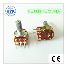 Mono/dual trimmer/rotary/carbon plate potentiometer alpha with rotary switch