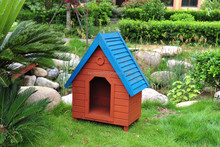 WOODEN DOG HOUSE, PET HOUSE WOOD ALS-6106