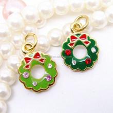 Boosin custom made charms wholesale fashion enamel Christmas colorful charms #16148