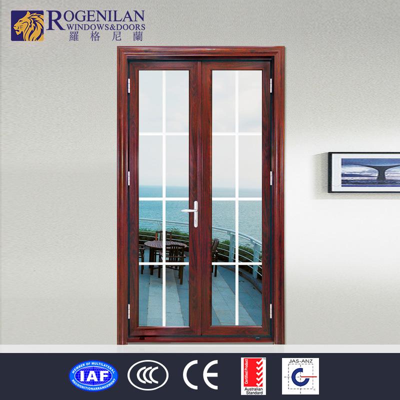 Rogenilan commercial interior door with frosted glass for Commercial interior doors