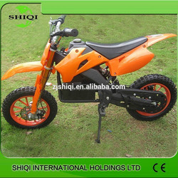 Pit bike 500W with cheap price electric dirt bike for sale SQ-DB708E