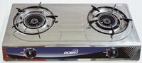 lpg gas stove 2 burner Stainless Steel part BW-2041