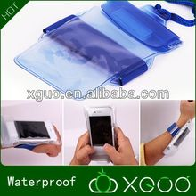Transparent PVC beach bags fashion water proof bag,cell phone belt bag