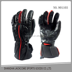 New arrival cowhide leather China motorcycle racing gloves windproof