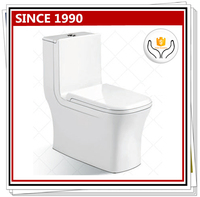 8078 New design sanitary ware washdown or siphonic standard toilet dimensions
